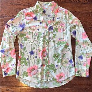 Express Portofino slim blouse sz medium so pretty!
